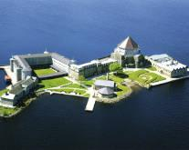 Lough Derg Womens Hospice and Pier, Co. Donegal.