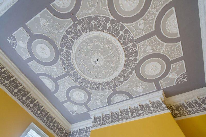 Garland Renovation Conservation Of Belvedere House Belvedere